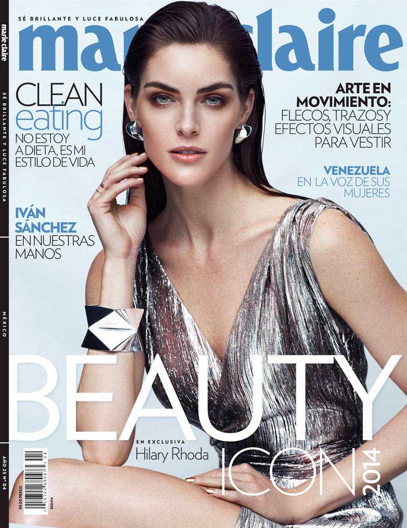 hilary rhoda photos10 Hilary Rhoda Stuns in Marie Claire Mexico Shoot by Hunter & Gatti