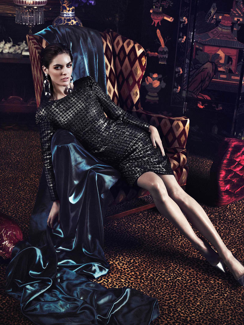 hilary rhoda photos2 Hilary Rhoda Stuns in Marie Claire Mexico Shoot by Hunter & Gatti