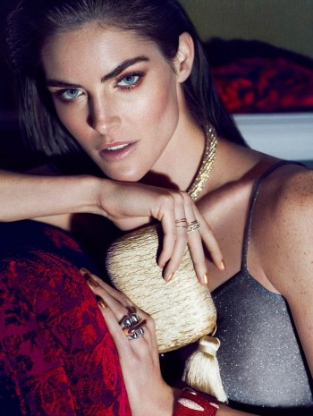 Hilary Rhoda Stuns in Marie Claire Mexico Shoot by Hunter & Gatti