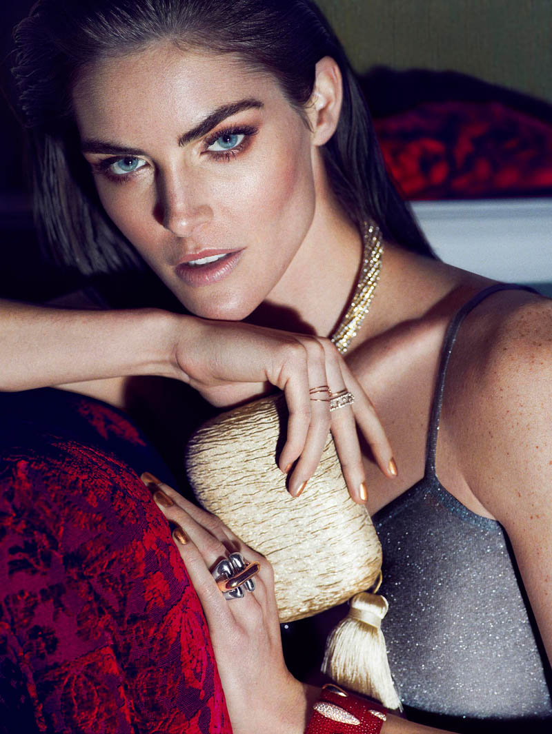hilary rhoda photos8 Hilary Rhoda Stuns in Marie Claire Mexico Shoot by Hunter & Gatti