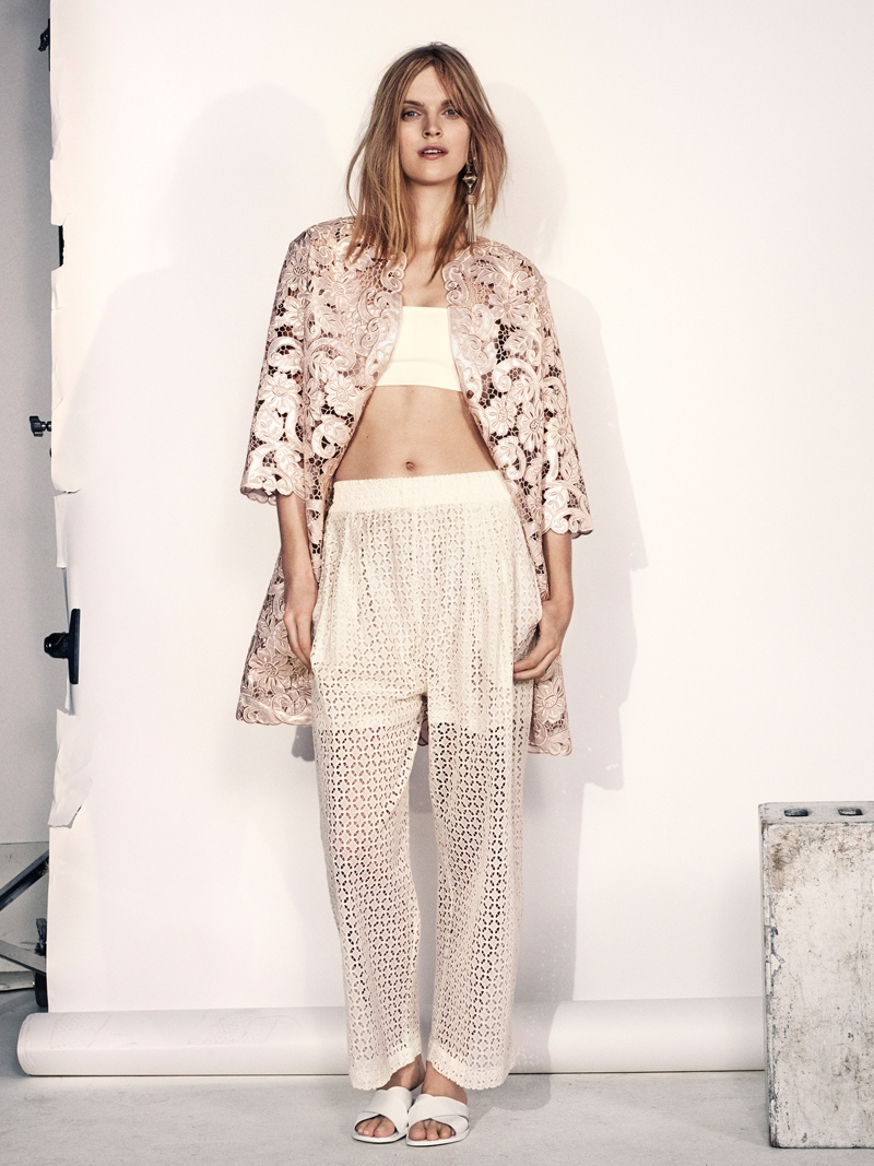 hm summer 2014 2 Mirte Maas Wears H&Ms Summer 2014 Collection