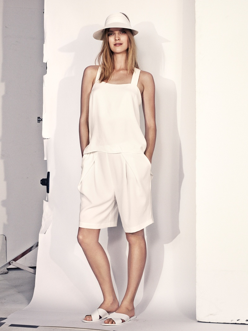 hm summer 2014 3 Mirte Maas Wears H&Ms Summer 2014 Collection