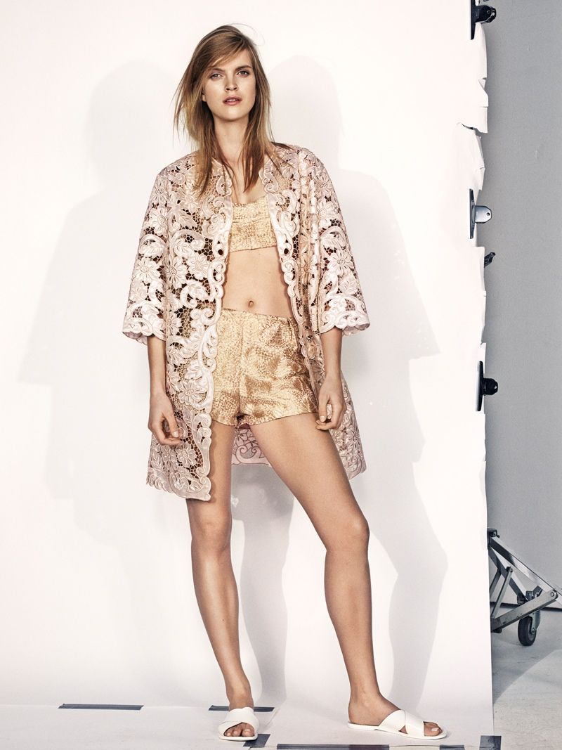 Mirte Maas Wears H&M's Summer 2014 Collection