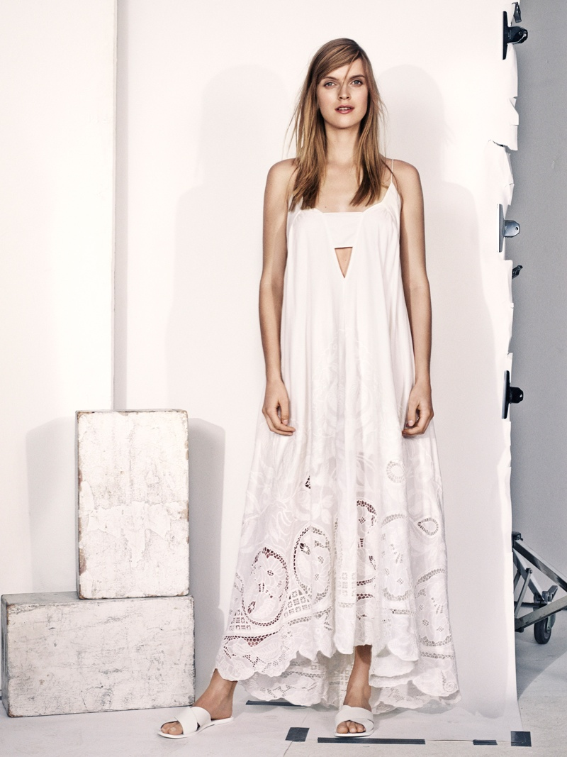 hm summer 2014 6 Mirte Maas Wears H&Ms Summer 2014 Collection