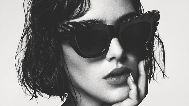 Eliza Cummings Fronts House of Holland Summer 2014 Eyewear Campaign