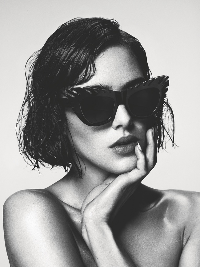 house holland summer 14 eyewear2 Eliza Cummings Strips for House of Holland Summer 2014 Eyewear Campaign