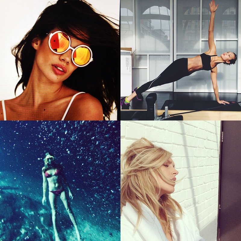 instagram april model Instagram Photos of the Week | Anja Rubik, Karlie Kloss + More Models