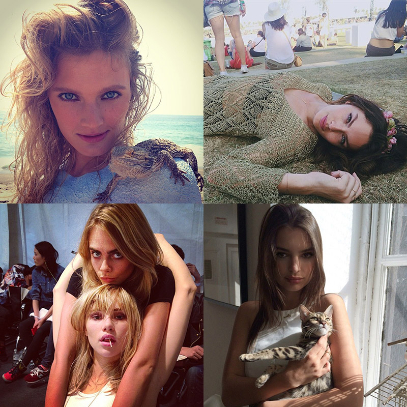 instagram april models fri Instagram Photos of the Week | Emily Ratajkowski, Suki Waterhouse + More Models
