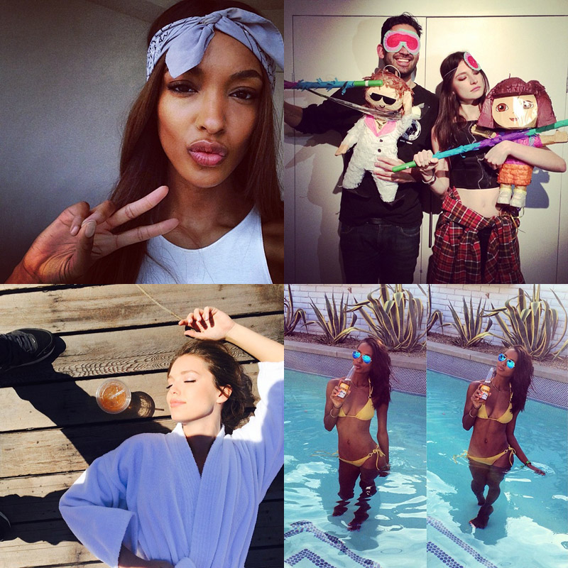 instagram april week models Instagram Photos of the Week | Jourdan Dunn, Emily DiDonato + More Models