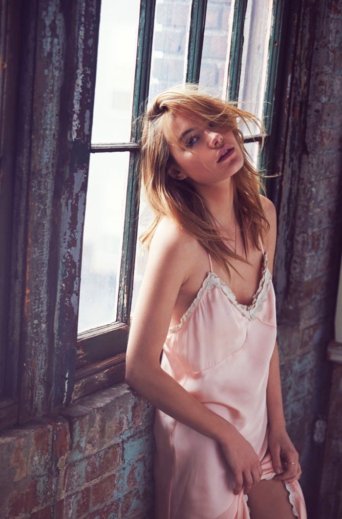 intimately free people david bellemere5 Camille Rowe, Farah Holt & Amanda Norgaard Charm in Intimately Free People Shoot