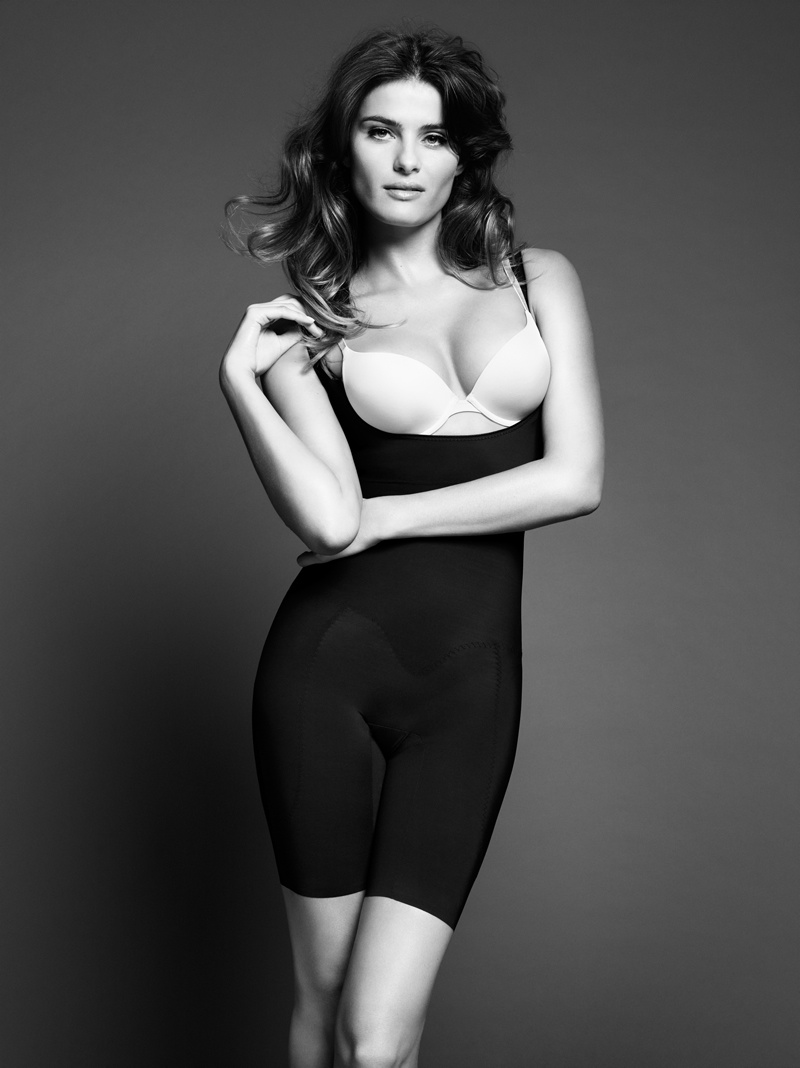 isabeli fontana lindex shapewear1 Isabeli Fontana Shapes Up for Lindex Spring 2014 Campaign