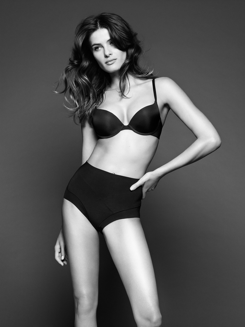 isabeli fontana lindex shapewear3 Isabeli Fontana Shapes Up for Lindex Spring 2014 Campaign