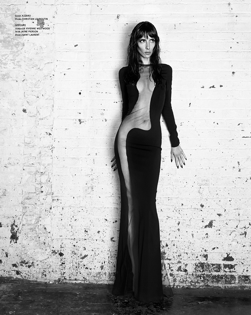 jamie bochert 2014 1 Jamie Bochert Gets Dark in VOLT Spring 2014 Shoot by Samantha Rapp