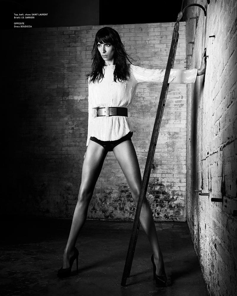 jamie bochert 2014 7 Jamie Bochert Gets Dark in VOLT Spring 2014 Shoot by Samantha Rapp