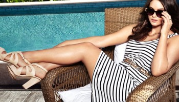 """Plus Size Model Jennie Runk Stars in H&M """"Private Paradise"""" Photos"""
