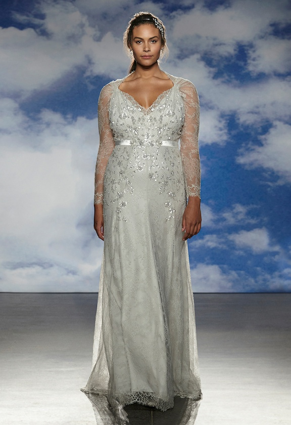 jenny packham spring 2015 bridal wedding dresses1 Jenny Packham Features Plus Size Models in Her Spring 2015 Bridal Show