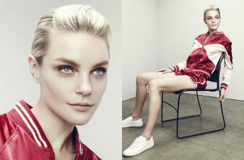 Jessica Stam Wears Sporty Outfits for The Edit Shoot by Nagi Sakai