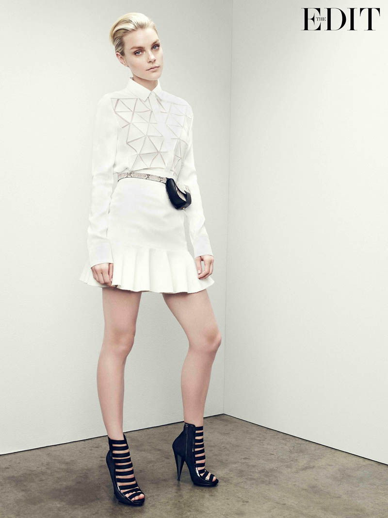 jessica stam 2014 6 Jessica Stam Wears Sporty Outfits for The Edit Shoot by Nagi Sakai