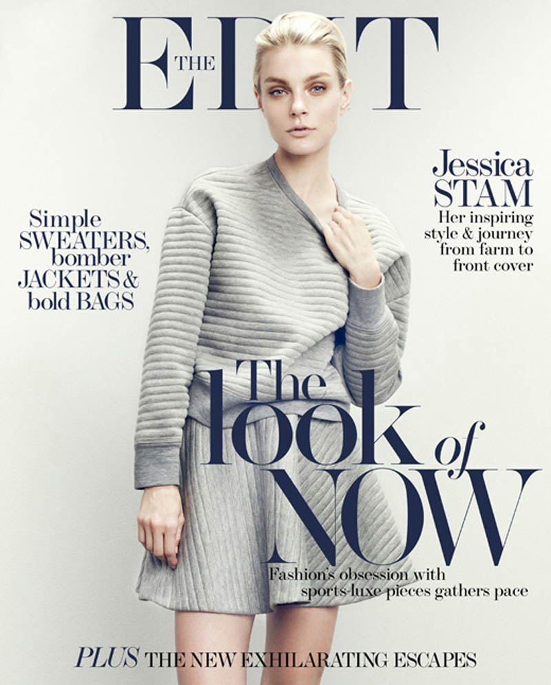 jessica stam 2014 7 Jessica Stam Wears Sporty Outfits for The Edit Shoot by Nagi Sakai