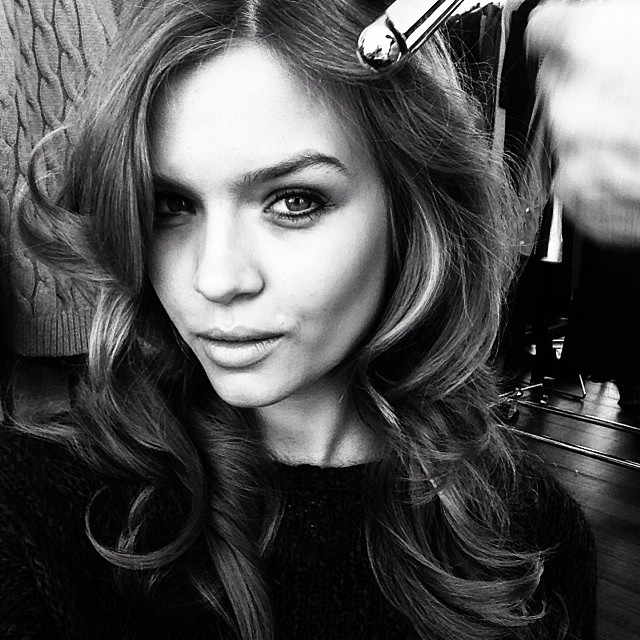 Josephine Skriver shares her hairstyle for upcoming shoot