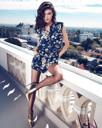 Jacquelyn Jablonski + Martha Hunt Take LA for Juicy Couture Fall 2014 Line