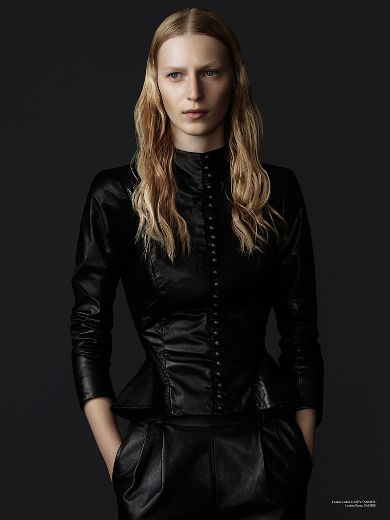 julia nobis 2014 1 Julia Nobis Gets Dark for Stonefox #3 Cover Shoot by Christopher Ferguson