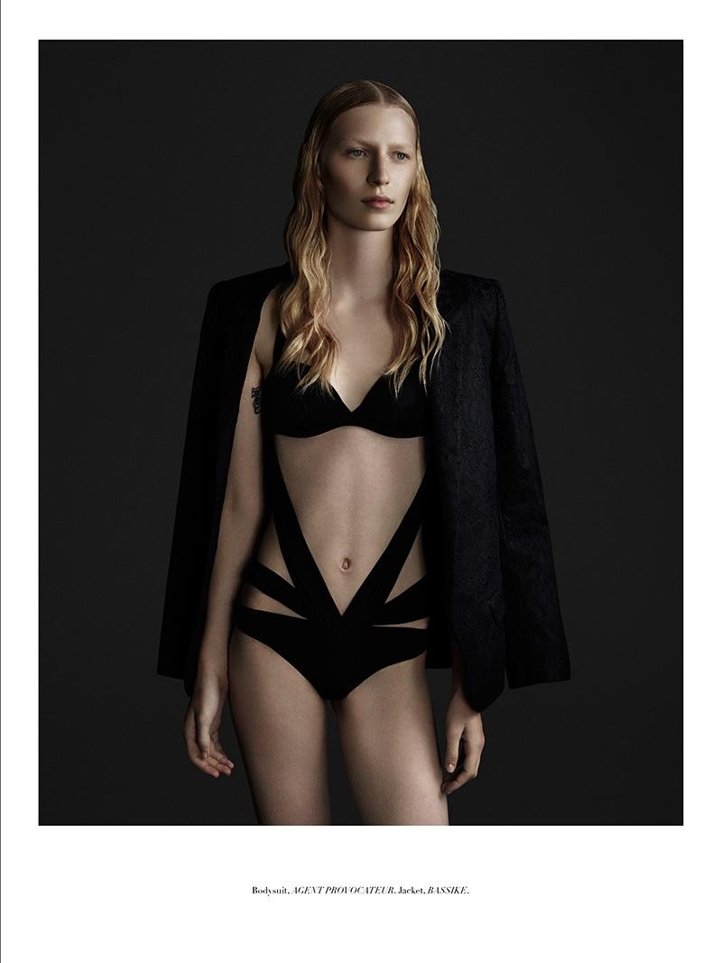 julia nobis 2014 5 Julia Nobis Gets Dark for Stonefox #3 Cover Shoot by Christopher Ferguson