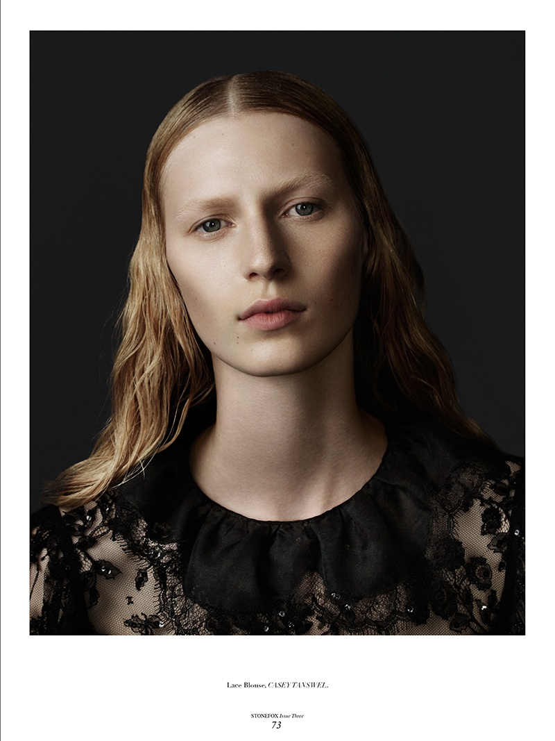 Julia Nobis Gets Dark For Stonefox #3 Cover Shoot By