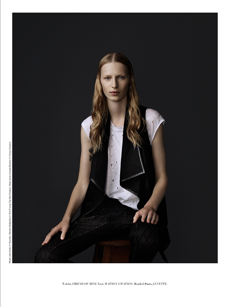 julia nobis 2014 8 Julia Nobis Gets Dark for Stonefox #3 Cover Shoot by Christopher Ferguson