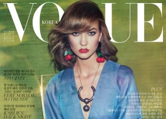 karlie kloss vogue korea cover 326x235