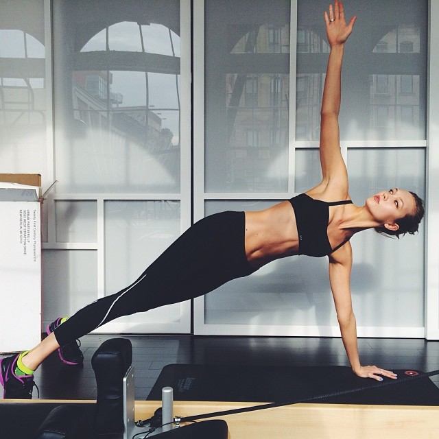 karlie workout Instagram Photos of the Week | Anja Rubik, Karlie Kloss + More Models