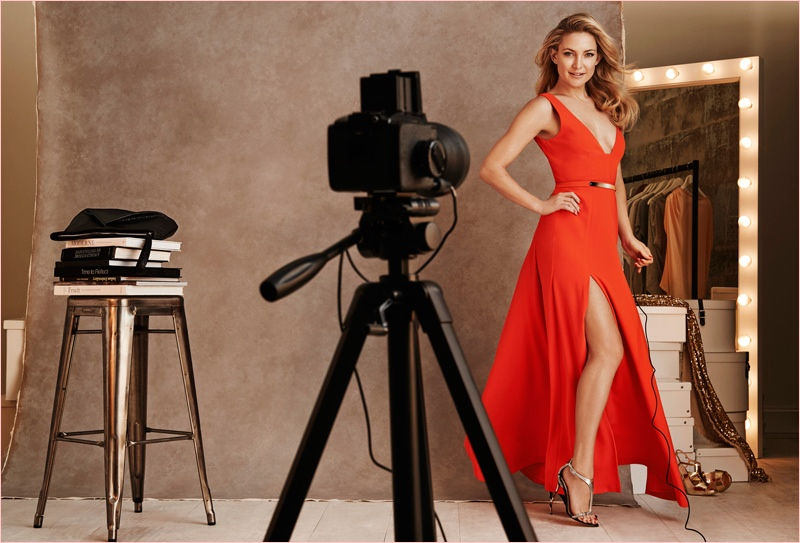 Kate Hudson Gets Party Ready for New Lindex Campaign