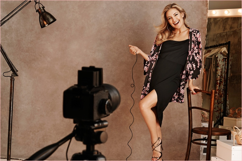 kate hudson lindex party dresses4 Kate Hudson Gets Party Ready for New Lindex Campaign