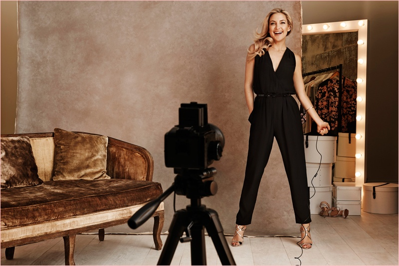 kate hudson lindex party dresses6 Kate Hudson Gets Party Ready for New Lindex Campaign
