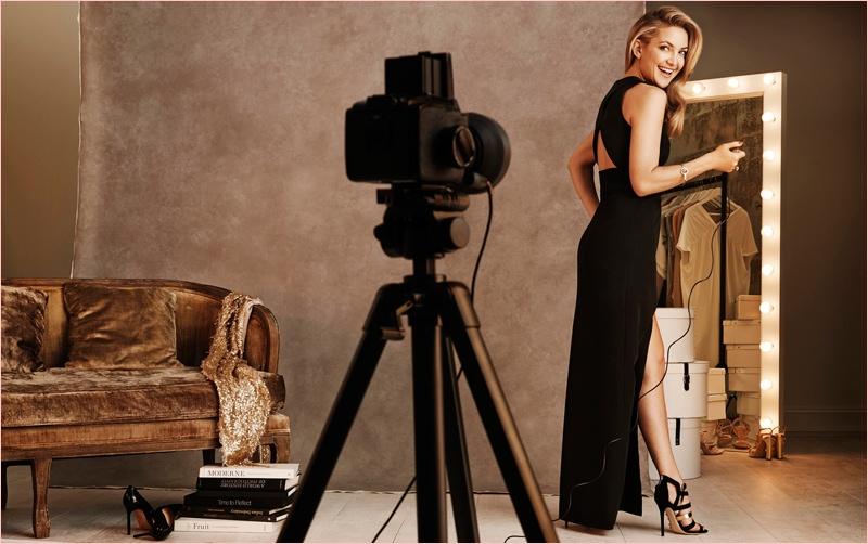 kate hudson lindex party dresses8 Kate Hudson Gets Party Ready for New Lindex Campaign