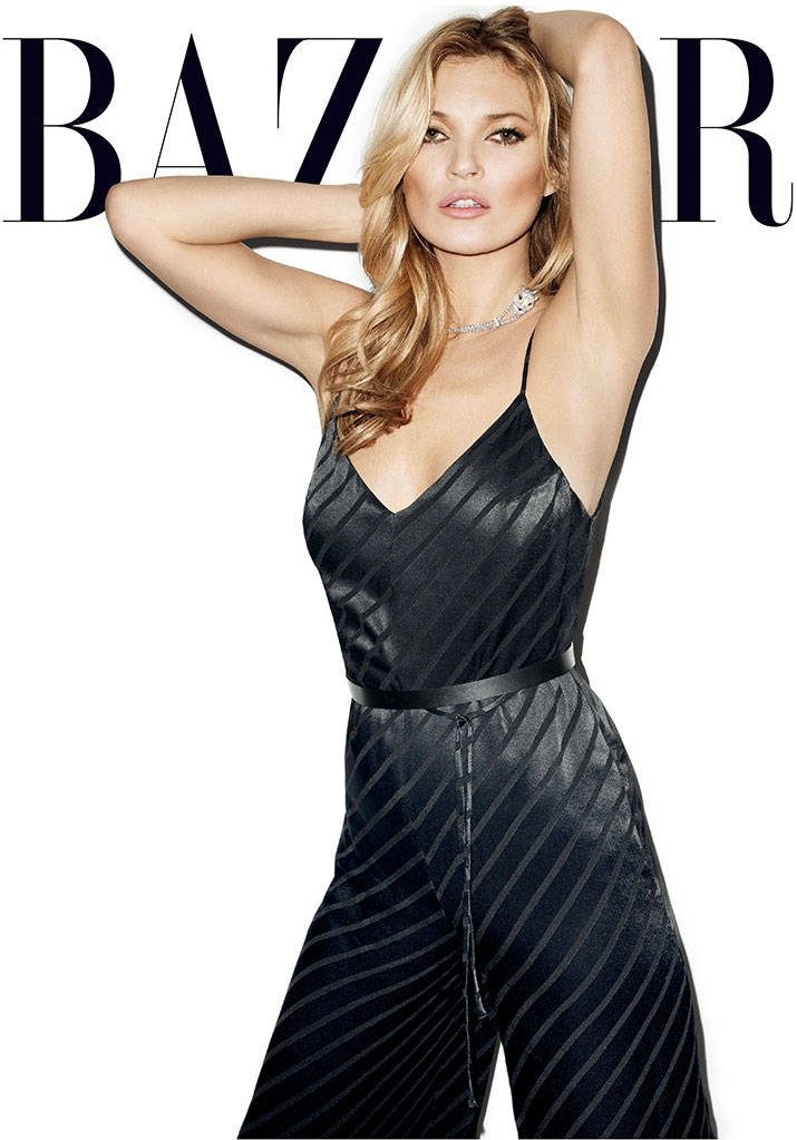 kate moss harpes bazaar may 2014 cover2 Kate Moss Shines for Harpers Bazaar May 2014 Cover by Terry Richardson