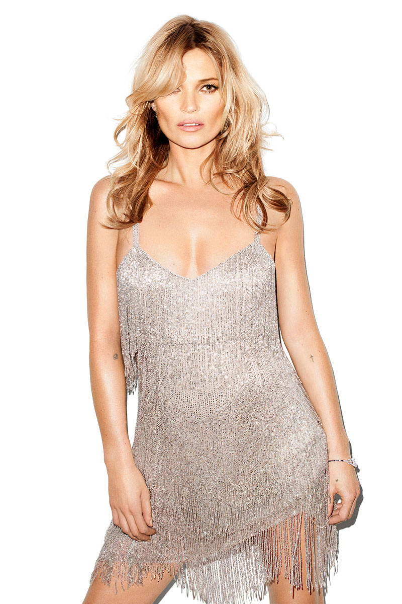 kate moss terry richardson2 Kate Moss Talks Turning 40, Topshop Collection with Harpers Bazaar
