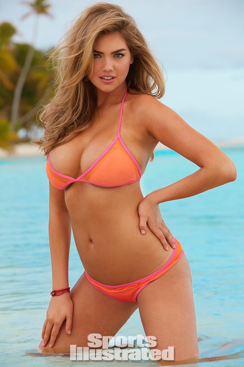 Kate Upton is the ultimate blonde bombshell in a bkini look for SI's Swimsuit Issue. Photo: Sport's Illustrated/James Macari