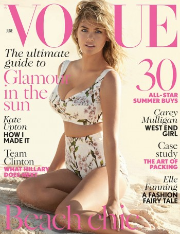 Kate Upton Covers Vogue UK, Talks Being Compared to Marilyn Monroe
