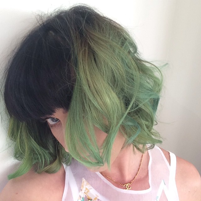 Katy Perry Now Has Green Hair