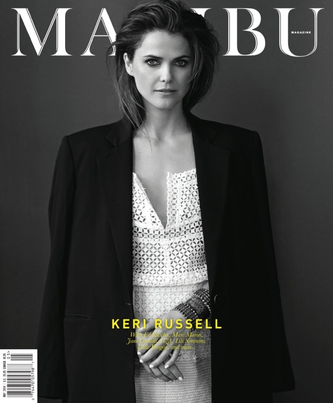 keri russell 2014 1 The Americans' Keri Russell Poses for Malibu Mag by Eric Guillemain