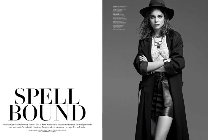 kim noorda photos1 Spell Bound: Kim Noorda is Enchanting for LOfficiel Netherlands Shoot