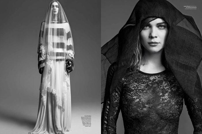 kim noorda photos2 Spell Bound: Kim Noorda is Enchanting for LOfficiel Netherlands Shoot
