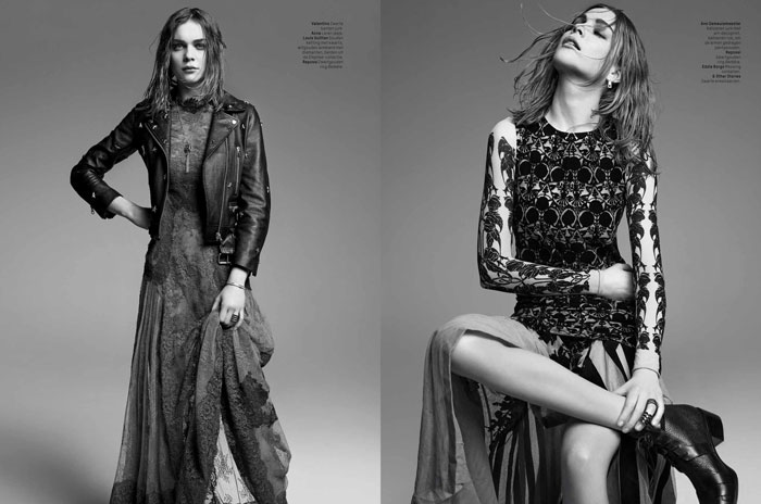 kim noorda photos4 Spell Bound: Kim Noorda is Enchanting for LOfficiel Netherlands Shoot