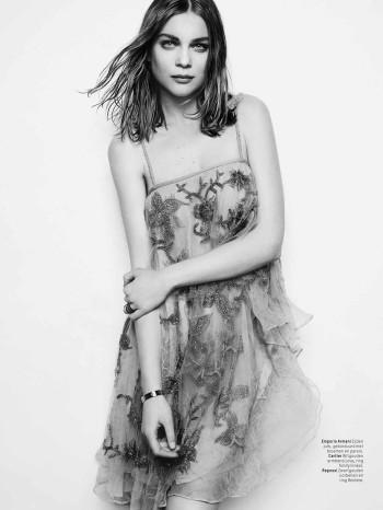Spell Bound: Kim Noorda is Enchanting for L'Officiel Netherlands Shoot