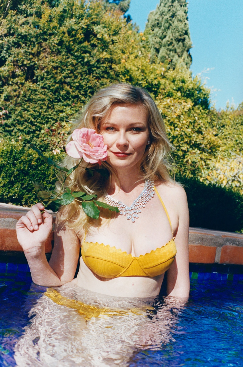 Kirsten Dunst Embraces Summer for W Shoot by Juergen Teller