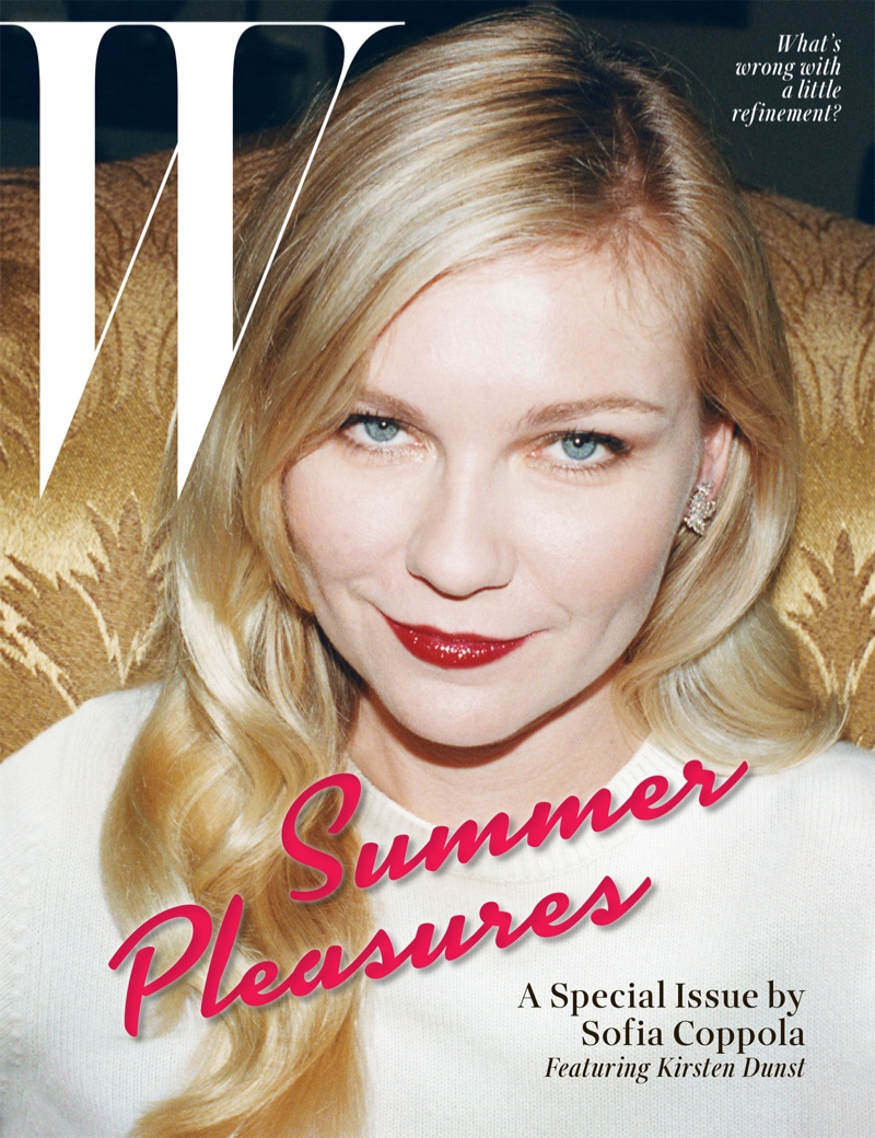 kirsten dunst juergen teller5 Kirsten Dunst Embraces Summer for W Shoot by Juergen Teller