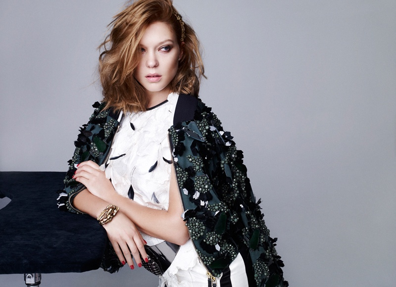 lea seydoux pictures4 Lea Seydoux Stuns in Dazed & Confused Korea Shoot by Nagi Sakai