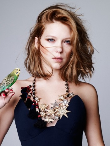 Lea Seydoux Stuns in Dazed & Confused Korea Shoot by Nagi Sakai