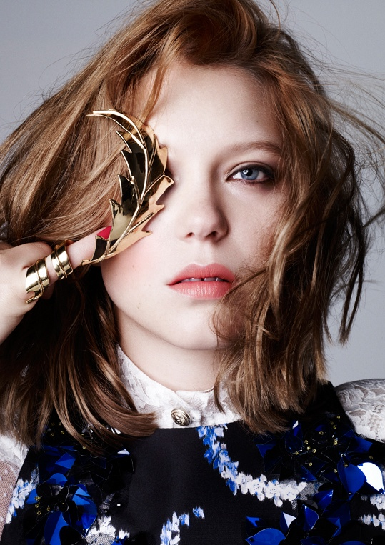 lea seydoux pictures8 Lea Seydoux Stuns in Dazed & Confused Korea Shoot by Nagi Sakai